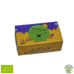 Beurre doux d'Ardèche 250g