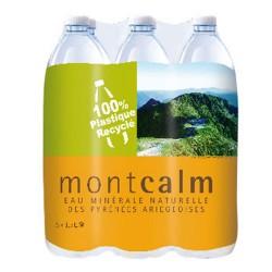 Eau Montcalm pack 6 bouteilles